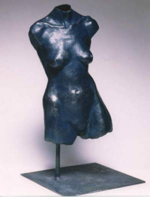 Front view of Torso - suitable as a garden sculpture idea