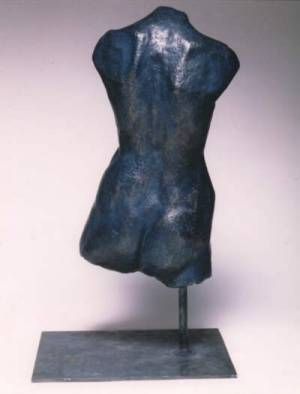 rear view of Torso - suitable as a garden sculpture idea
