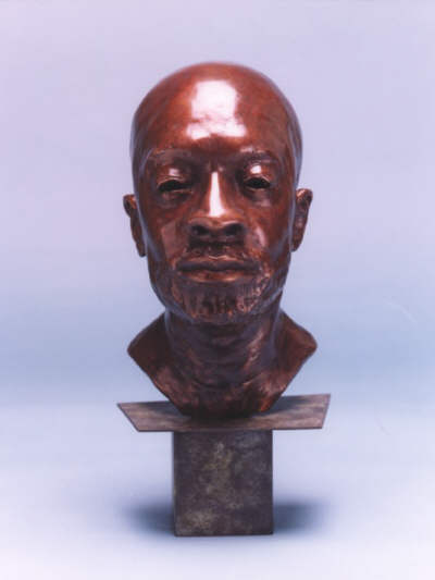 Isaac Hayes - Lifesize bronze front view