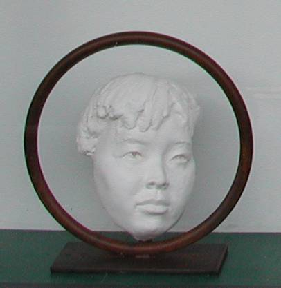 Chinese Faces Ring Series (shown here with Young Girl face fragment)