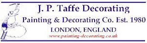 JP Taffe Decorating: painting & decorating in London