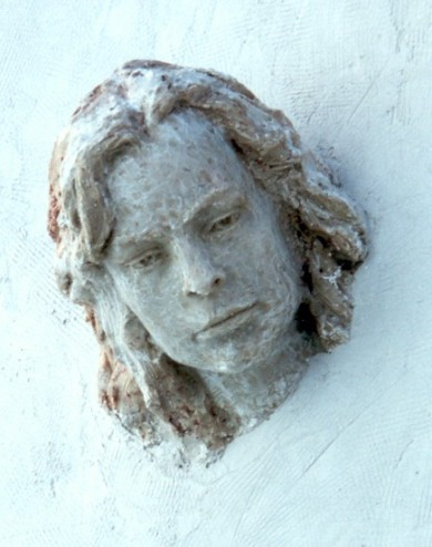 Portrait of Laury by Chinese sculptor Chen Lien Fu