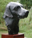 Click here for Animal Sculptures - dog busts and whole figure horses