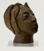 Small bronze bust - click here for larger image and purchase details